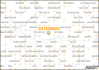 map of Osterburg