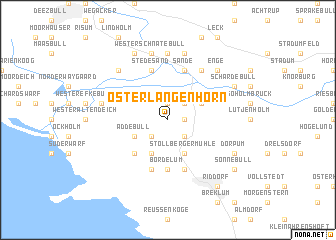map of Oster Langenhorn