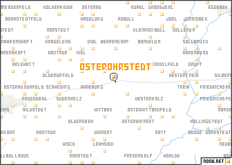 map of Oster-Ohrstedt