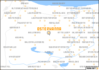 map of Osterwanna