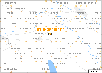 map of Othmarsingen