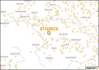 map of Otigošće