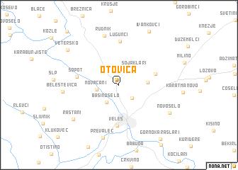 map of Otovica