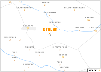 map of Otruba