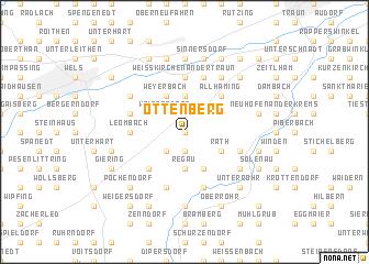 map of Ottenberg