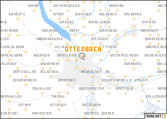 map of Otterbach