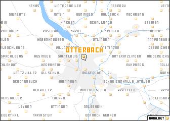 map of Otterbach