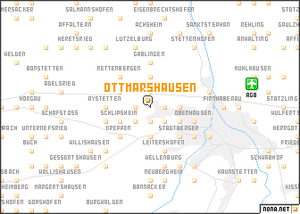 map of Ottmarshausen