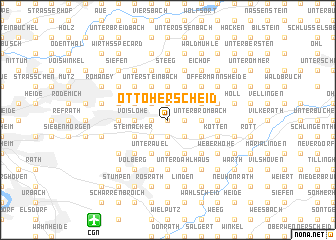 map of Ottoherscheid