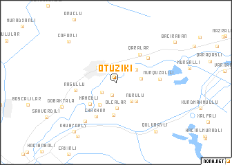 map of Otuziki