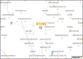 map of Ötvös
