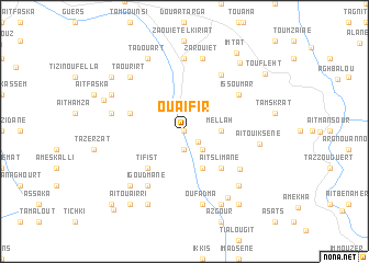 map of Ouaifir