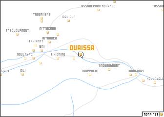 map of Ou Aïssa