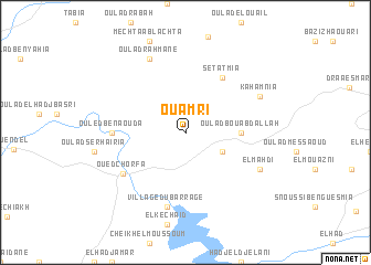 map of Ouamri