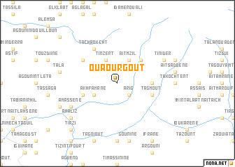 map of Ouaourgout