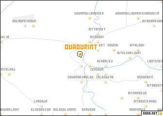 map of Ouaourint