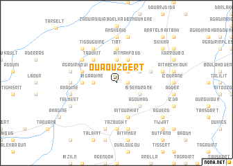 map of Ouaouzgert