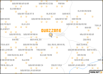 map of Ouazzane