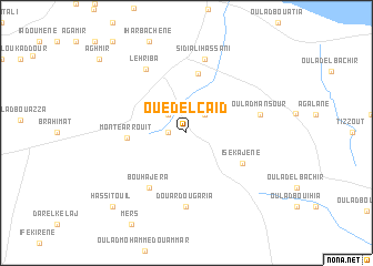 map of Oued el Caid