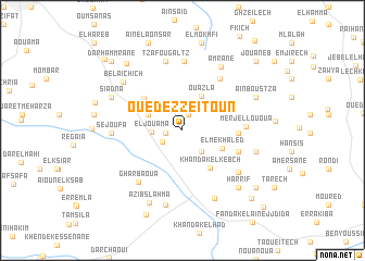 map of Oued ez Zeïtoun