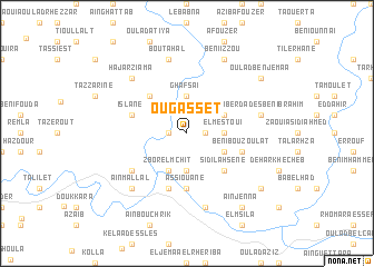 map of Ougasset