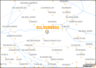 map of Oulad Abbou