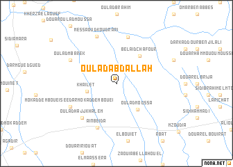 map of Oulad Abdallah