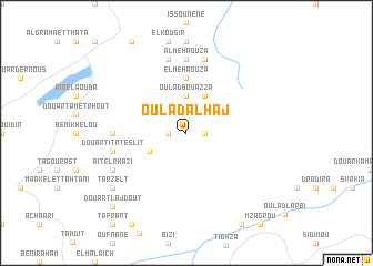 map of Oulad al Haj