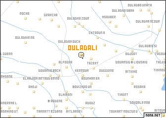 map of Oulad Ali