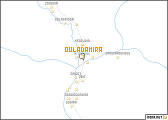 map of Oulad Amira