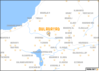 map of Oulad Ayad