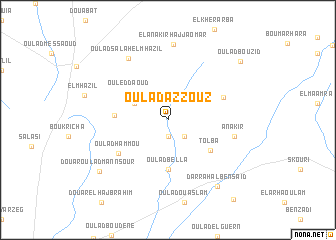 map of Oulad Azzouz