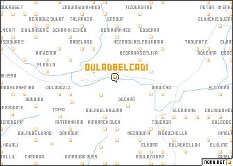 map of Oulad Bel Cadi