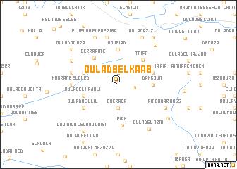 map of Oulad Bel Kaab