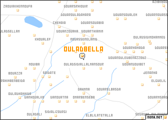 map of Oulad Bella