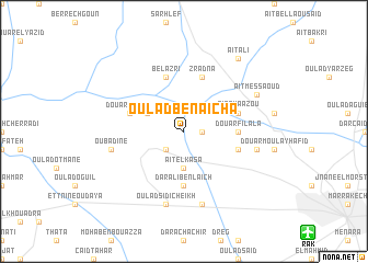 map of Oulad-Ben-Aïcha