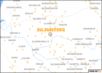 map of Oulad Ben Saïd