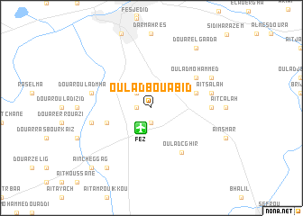 map of Oulad Bou Abid