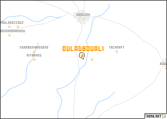 map of Oulad Bou Ali