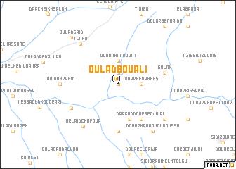 map of Oulad Bou Ali