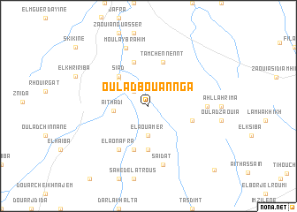 map of Oulad Bou Annga