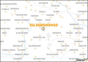 map of Oulad Bouhamida