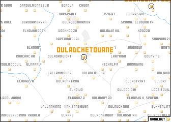 map of Oulad Chetouane