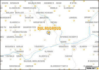 map of Oulad Daoud