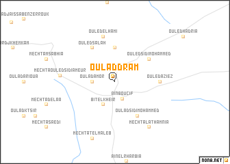 map of Oulad Dram