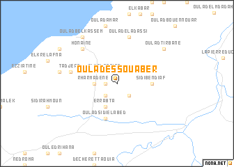 map of Oulad es Souaber