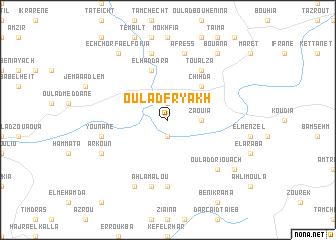 map of Oulad Fryakh