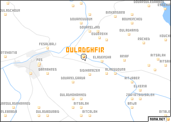 map of Oulad Ghfir
