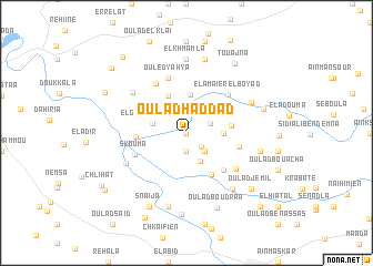 map of Oulad Haddad