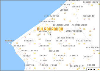 map of Oulad Haddou